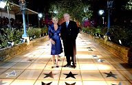 Stars unveil British walk of fame